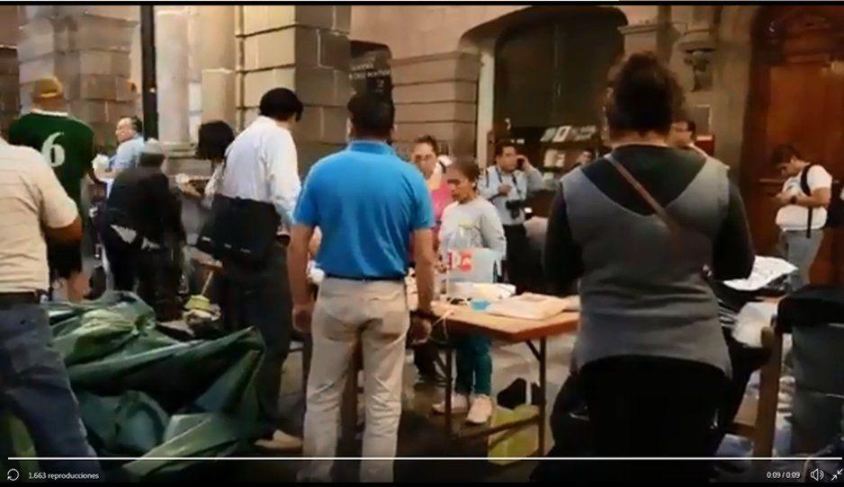 Sindicalizados levantan plantón frente a Palacio Municipal después de 71 días (VIDEO)
