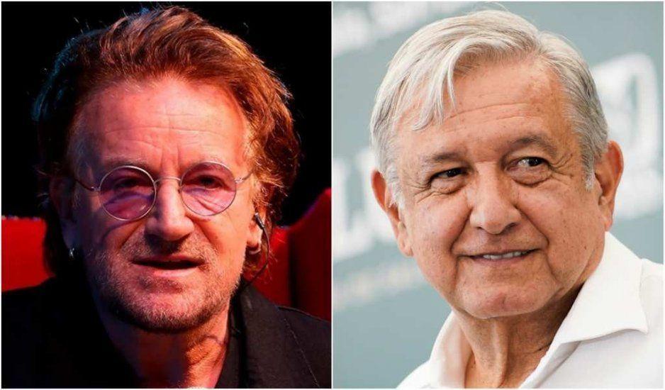 Los jóvenes y AMLO llevarán a México al siguiente nivel: Bono de U2 (VIDEO)