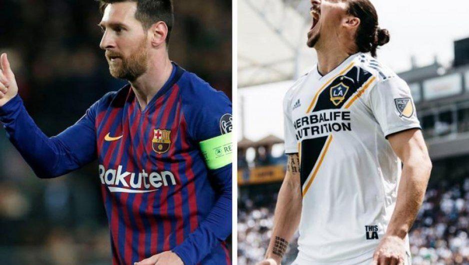 Messi y Zlatan, los favoritos para llevarse el premio Puskas a mejor gol del año (VIDEO)