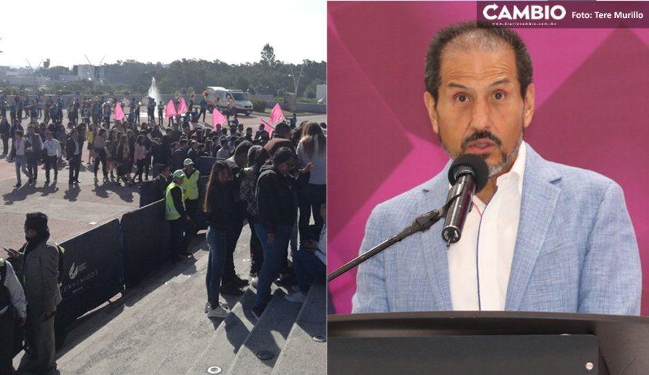 Esparza blinda CCU para su Segundo Informe de Labores; teme a manifestaciones por desvío de recursos (VIDEO)