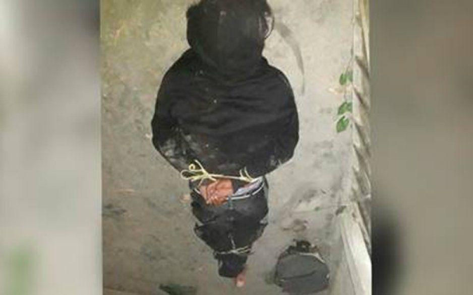 A punto de linchar a un sujeto en Chietla por presunto robo