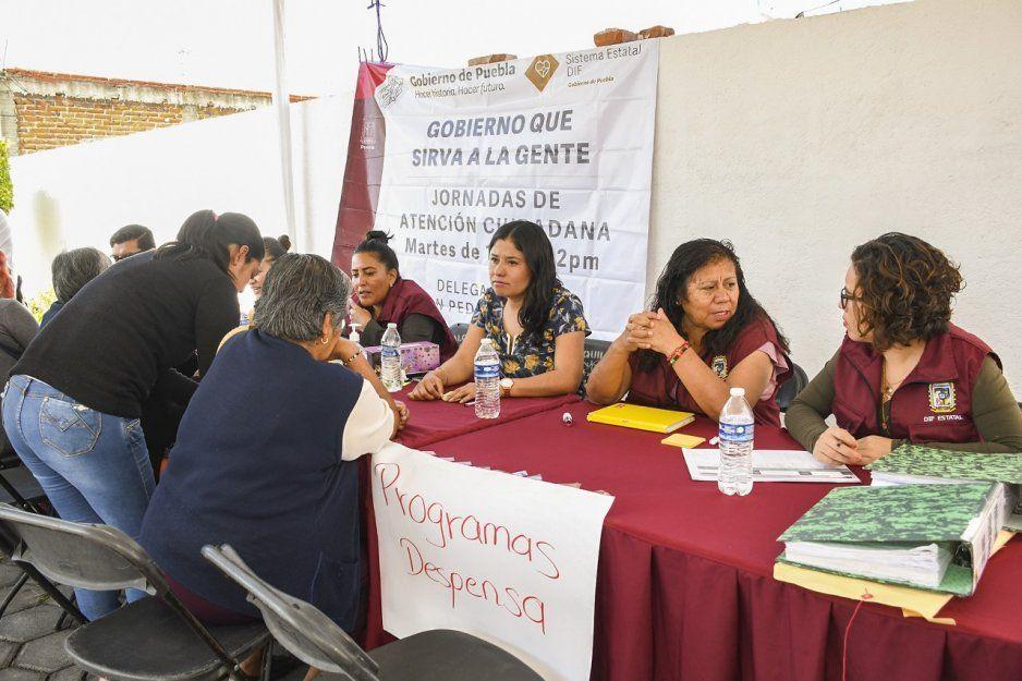 Inicia en DIF de Cuautlancingo, en coordinación con Delegación 09 del SEDIF, Jornadas de Atención Ciudadana