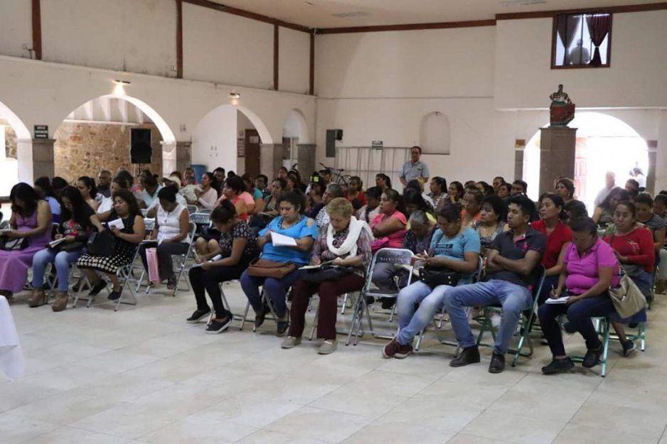 Se realiza reunión de presidentas del DIF en el Cis ante el cierre de Teopantlán
