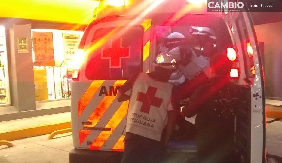 Dos heridos de balazos en menos de una hora por asaltos y riñas en Texmelucan