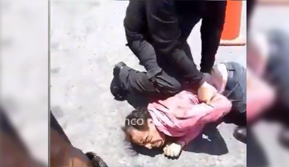 VIDEO: Detienen a ladrón en la Gran Bodega de la Central de Abasto