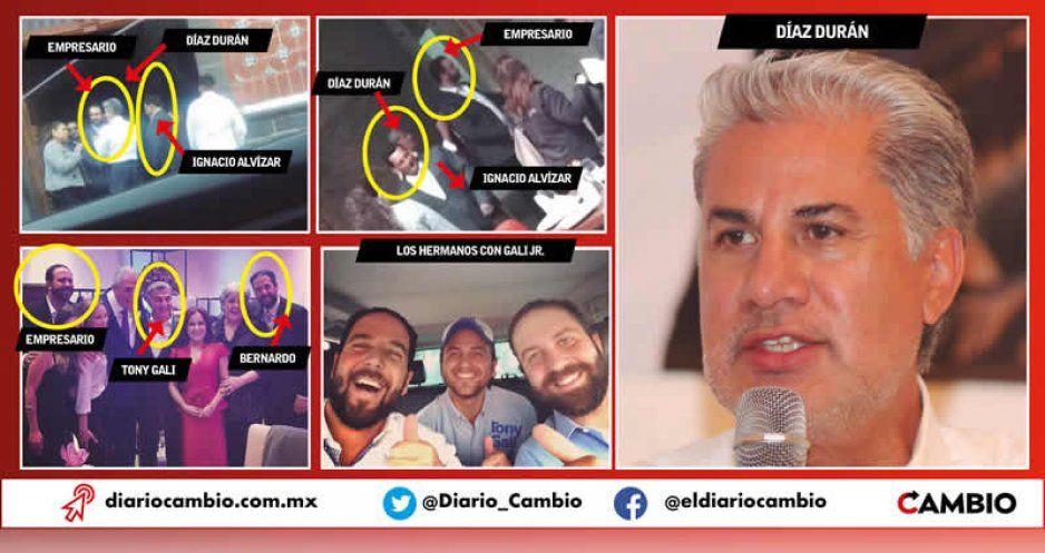 Gali mete mano en Morena y organiza visita de Rojas Díaz Durán para atacar a Barbosa