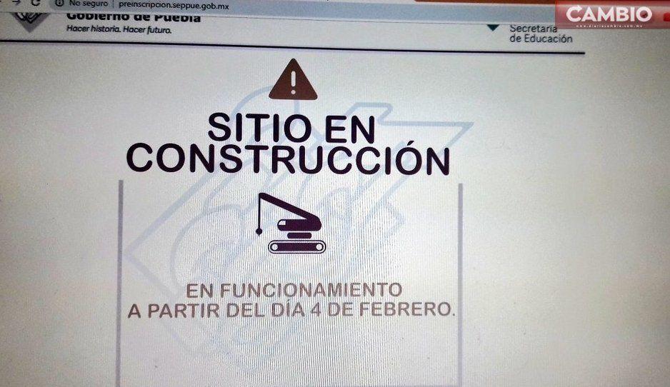 Así la educación en México: hoy empiezan las preinscripciones y la plataforma no funciona