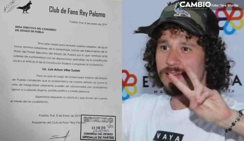 ¡Se burlan del Congreso! Club de fans Rey Palomo de Luisito Comunica es falso