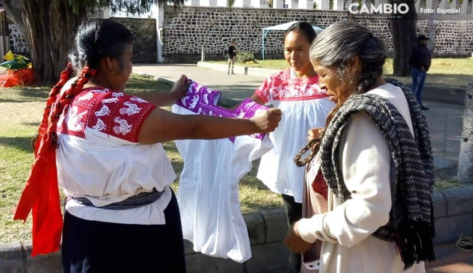 Artesanas temen perder bordados indígenas