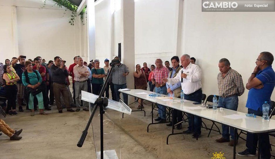 En Teziutlán hay un Gobierno que escucha a la gente: Carlos Peredo