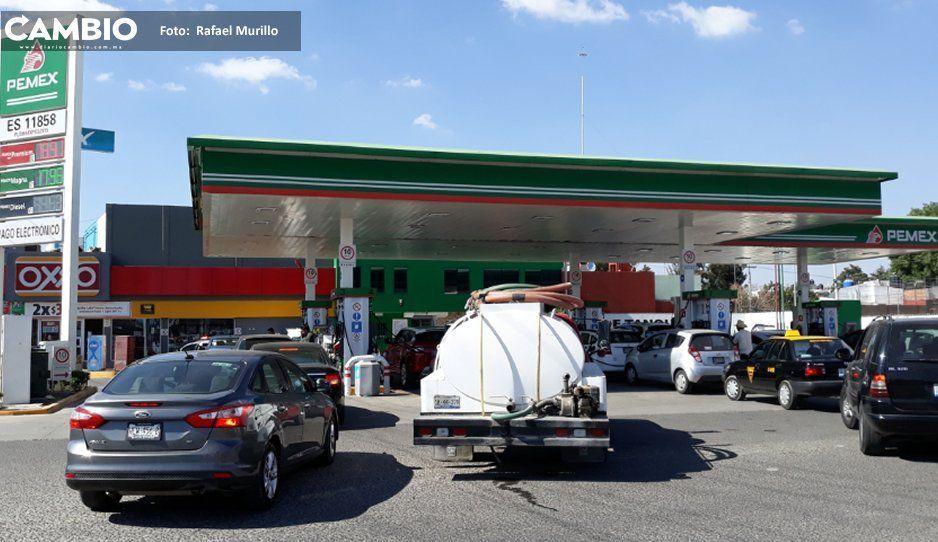 Canacintra y Canacar descartan escasez de combustible en Puebla