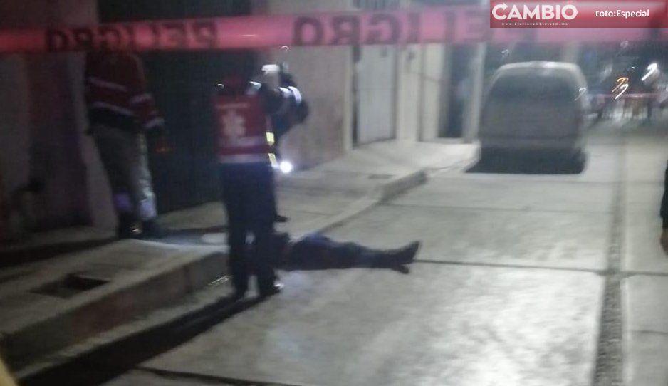 Otro ejecutado más en Texmelucan, ahora fue en la colonia Domingo Arenas