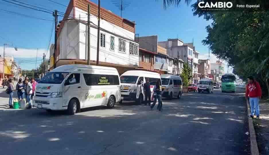 SIMT descarta aumento a tarifa del transporte público en municipios de Puebla