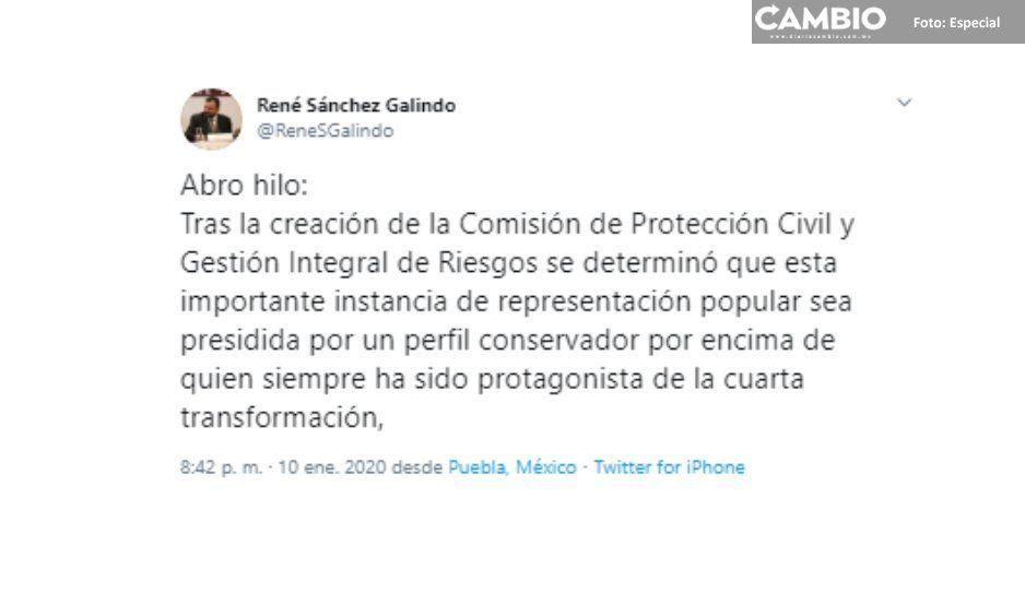 Comisión de Protección Civil será dirigida  por panista, pese a descontento de Segom