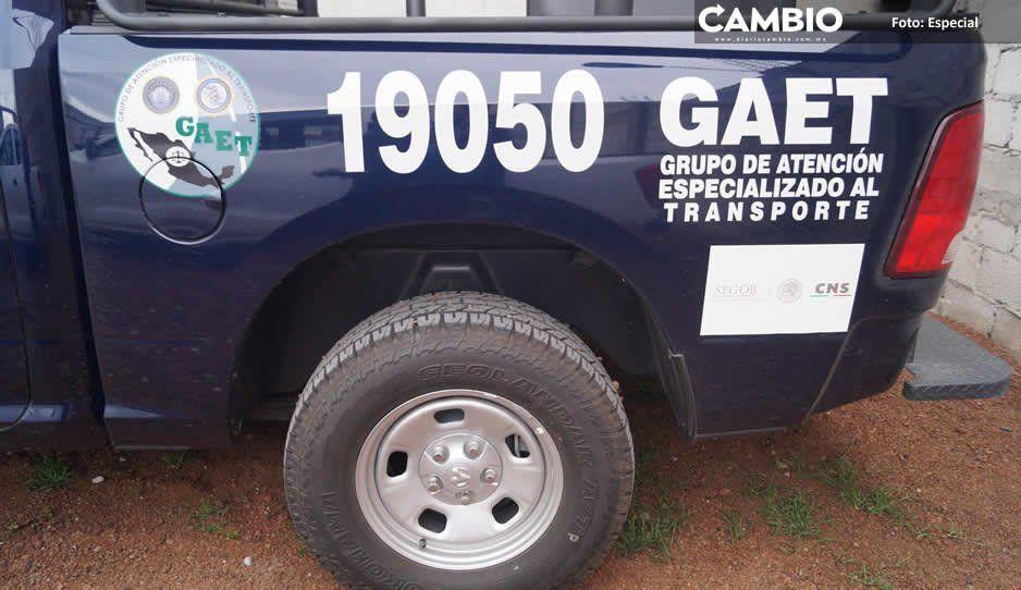 Extorsiona Policía Federal a transportistas de municipios de la Sierra Norte de Puebla