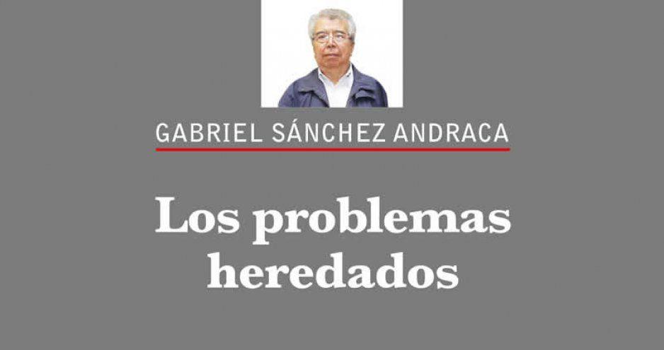Los problemas heredados