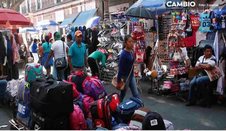 ¡Vuelven a salirse con la suya! Ambulantes permanecerán en el Centro Histórico en Semana Santa