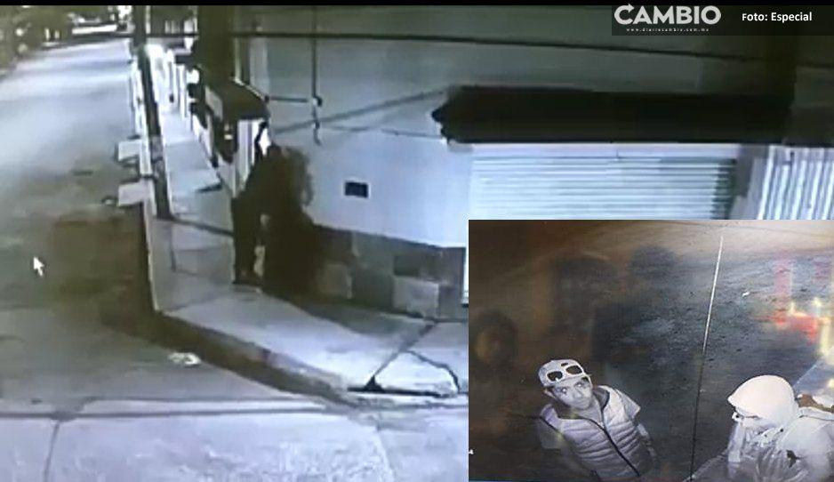 Estos sujetos roban cámara para evitar ser grabados haciendo sus fechorías