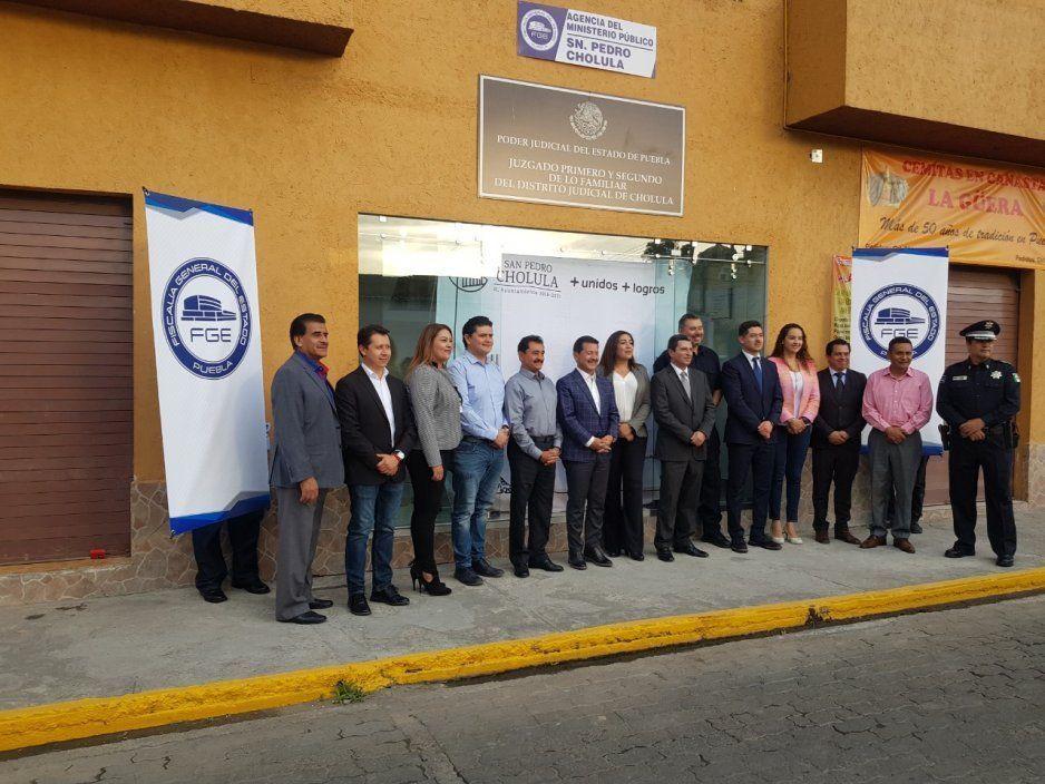 Regresan Ministerio Público a San Pedro Cholula; operará con seis agentes