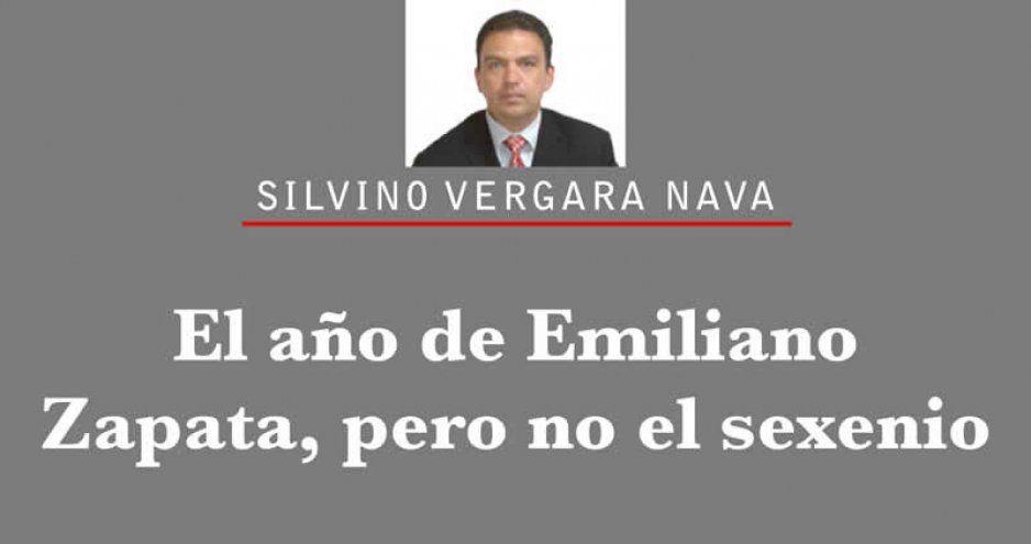 El año de Emiliano Zapata, pero no el sexenio
