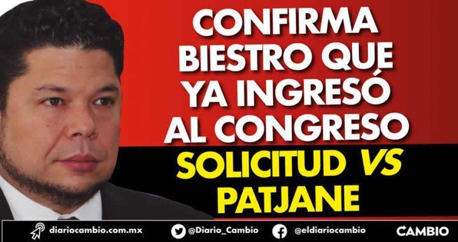 Confirma Biestro que ya ingresó al Congreso solicitud vs Patjane (VIDEO)