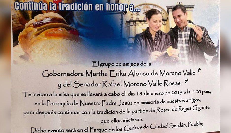 En Serdán partirán la rosca gigante como cada año se hacía con MEA y Moreno Valle