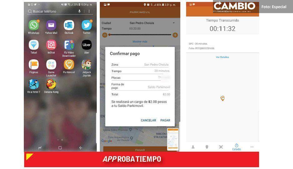 Usuarios de San Pedro se quejan  por robo de aplicación Parkimovil
