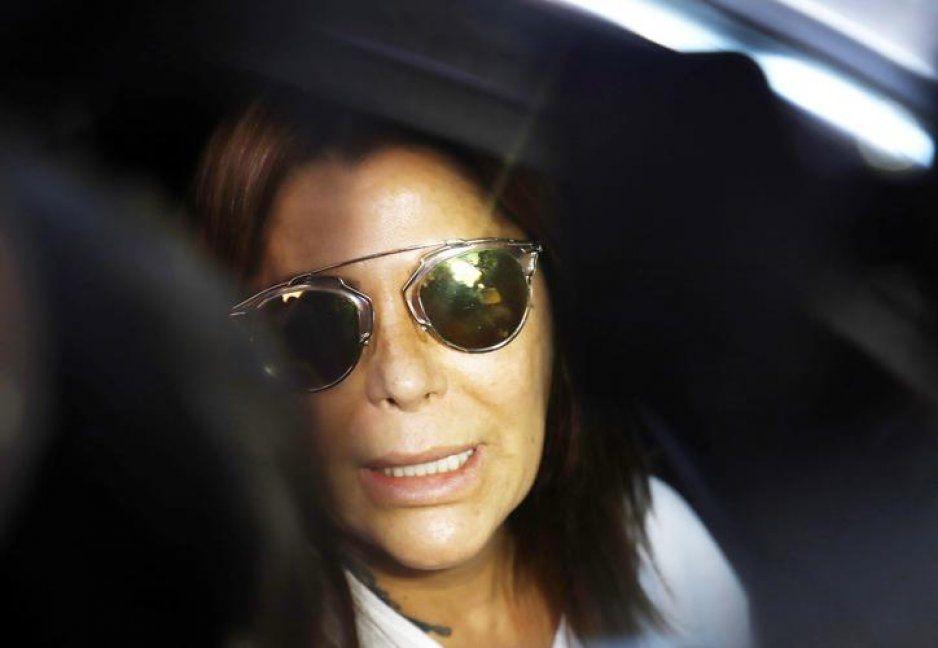 VIDEO: Así fue captada Alejandra Guzmán con el novio de su hija Frida Sofía