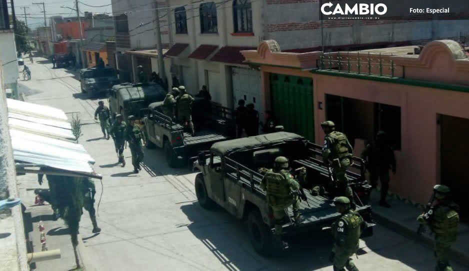 Moyotzingo sufre de balaceras, atracos e intento de linchamiento el fin de semana