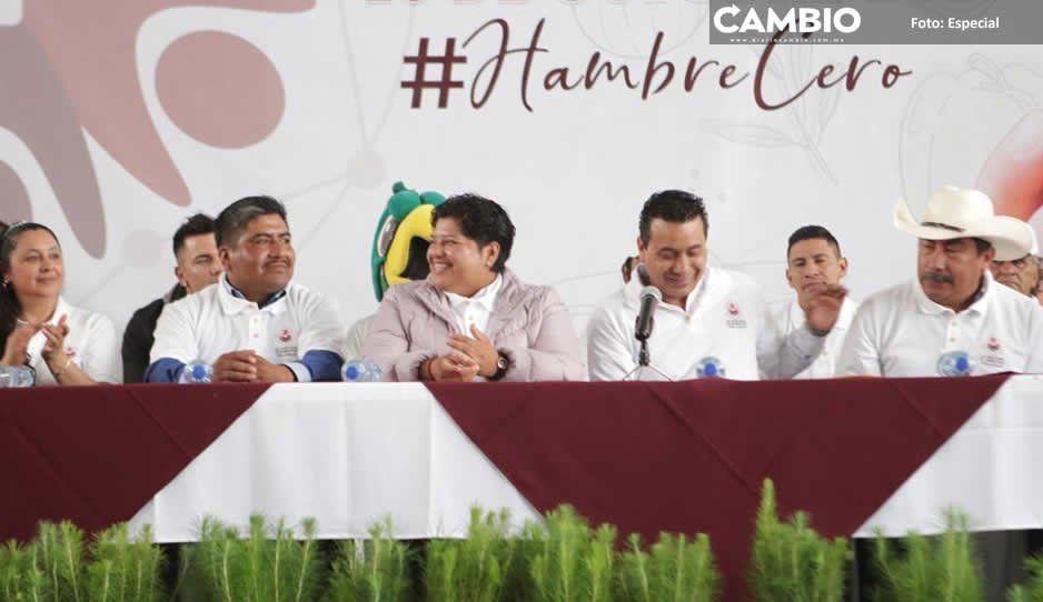 Karina Pérez se autopromociona en San Nicolás de los Ranchos a cargo del erario de San Andrés