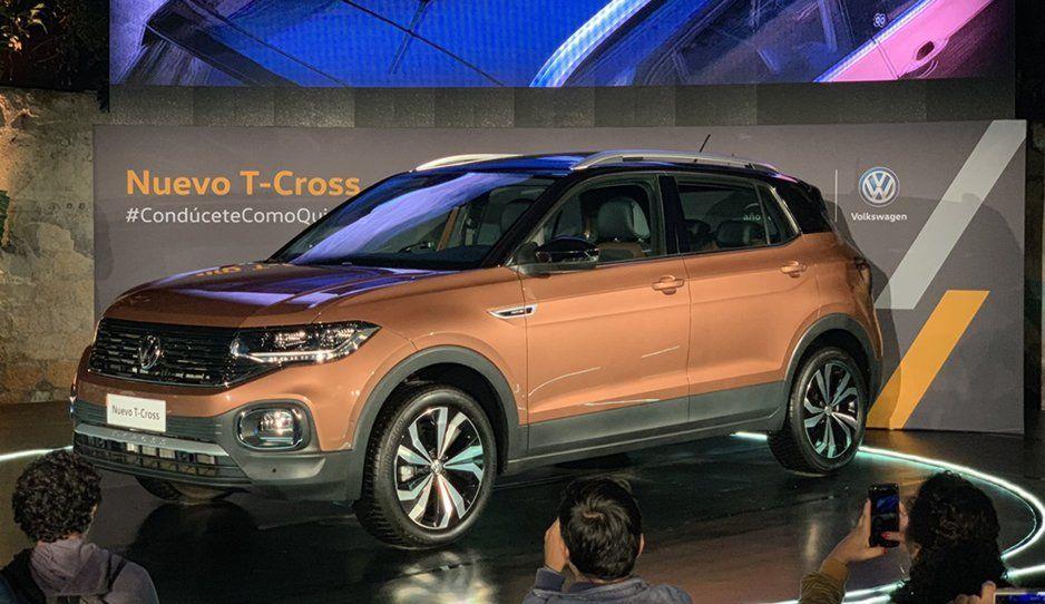 Volkswagen presenta su nueva SUV, la T-Cross próximamente de venta en México