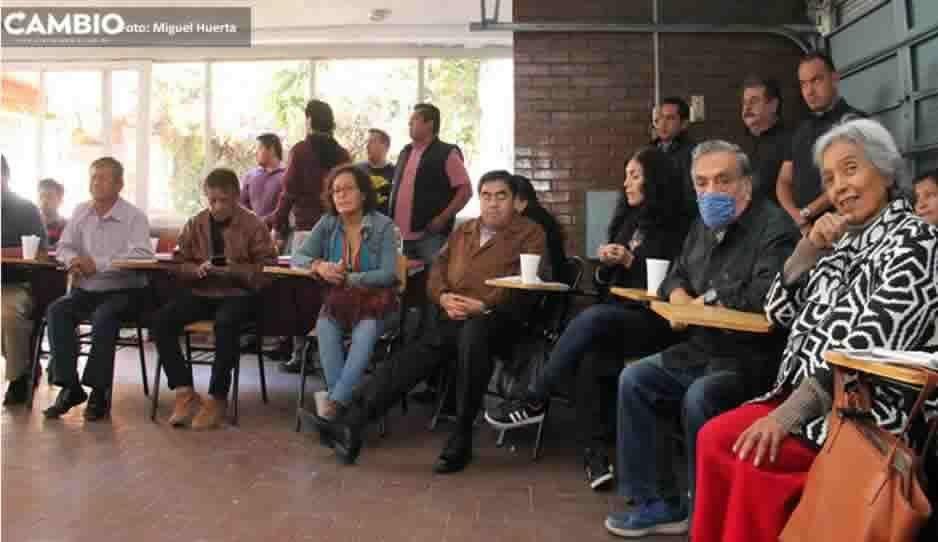 Barbosa se reúne con consejeros y regidores de Morena rumbo a la designación de candidato a la gubernatura