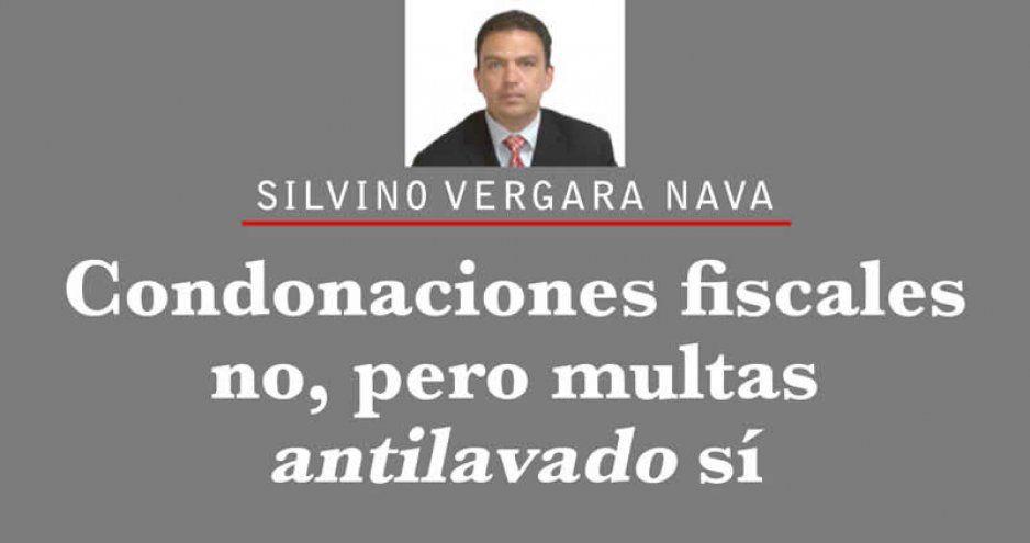 Condonaciones fiscales no, pero multas antilavado sí