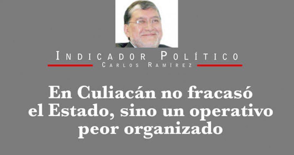 En Culiacán no fracasó el Estado,  sino un operativo peor organizado
