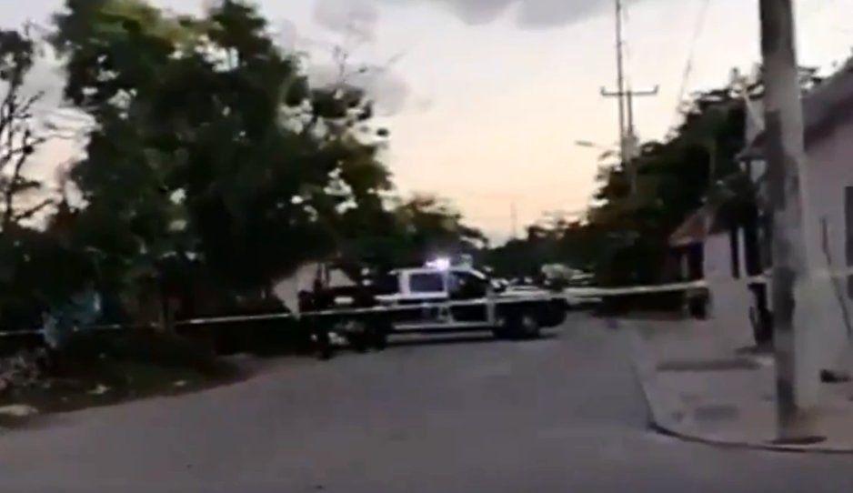 Sicarios rafaguean y asesinan a abuelita en Cancún (VIDEO)