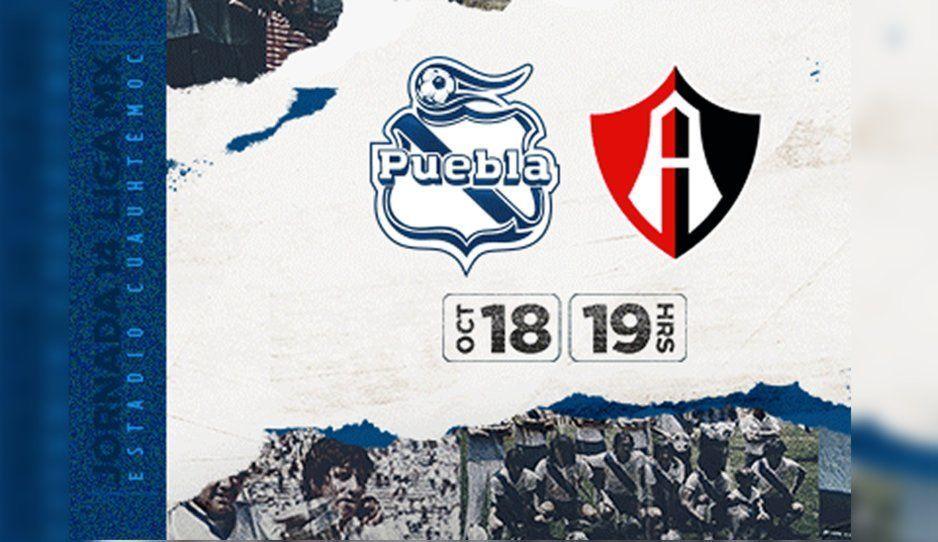 En riesgo el Puebla vs Atlas por el posible parón de la Liga MX