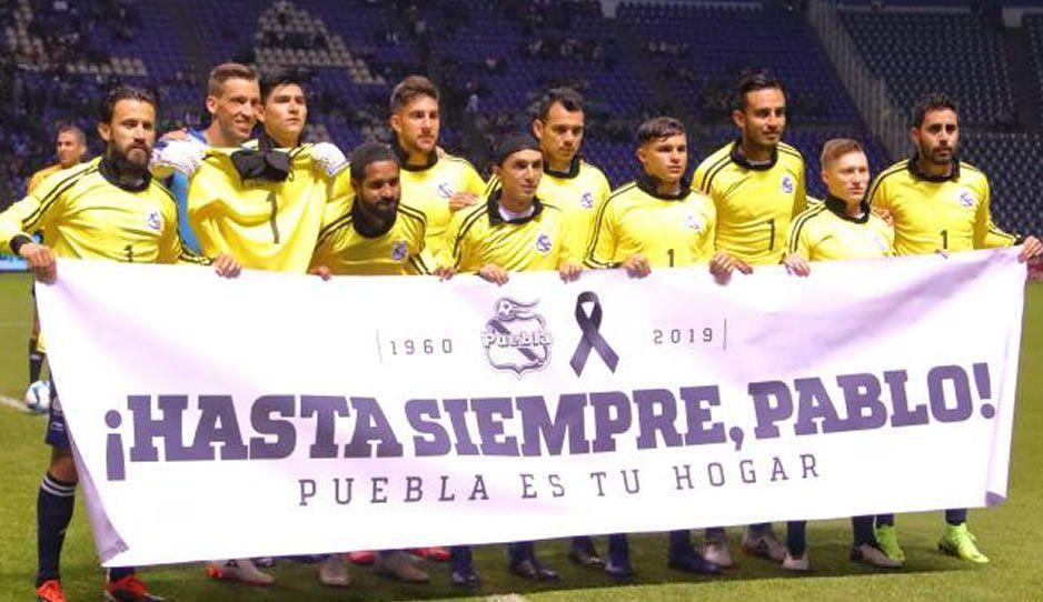 Club Puebla le hará un partido de homenaje a Larios el mismo día de la elección
