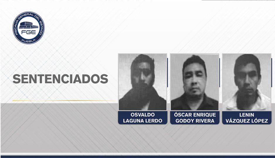 Condenan a 150 años de prisión a tres secuestradores de españoles en Atlixco