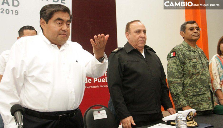 Alista Barbosa plan para combatir la inseguridad en Puebla