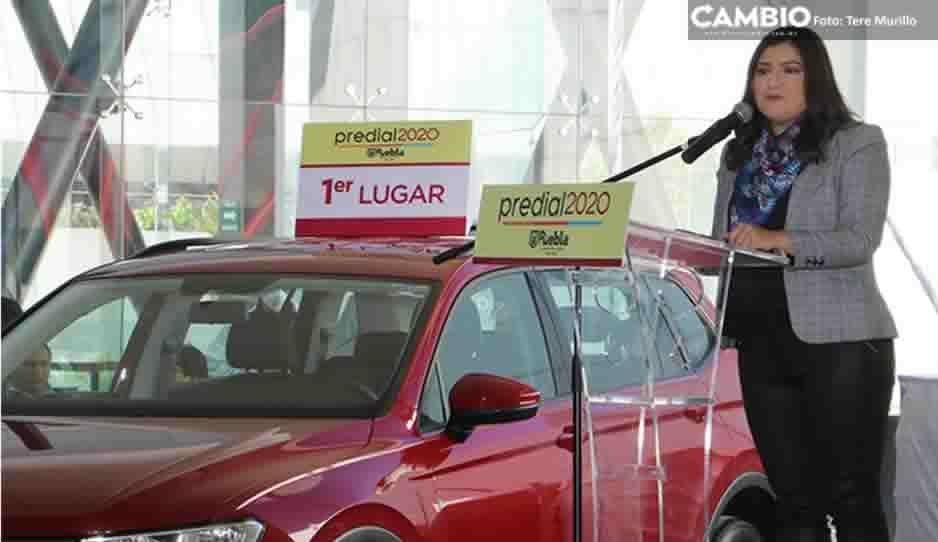 Comuna sorteará siete vehículos VolksWagen por pago anticipado de predial 2020