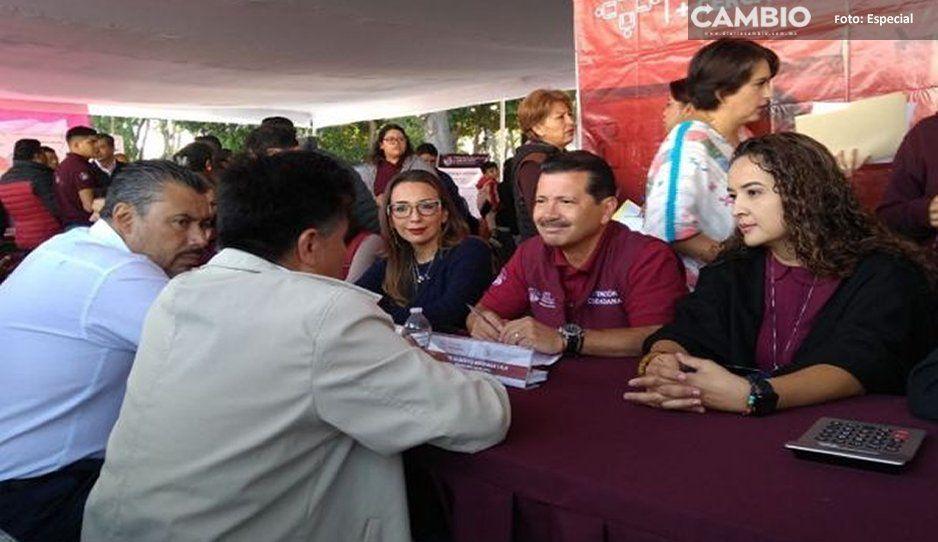 Con éxito realiza gobierno de San Pedro Cholula macro jornada de servicios