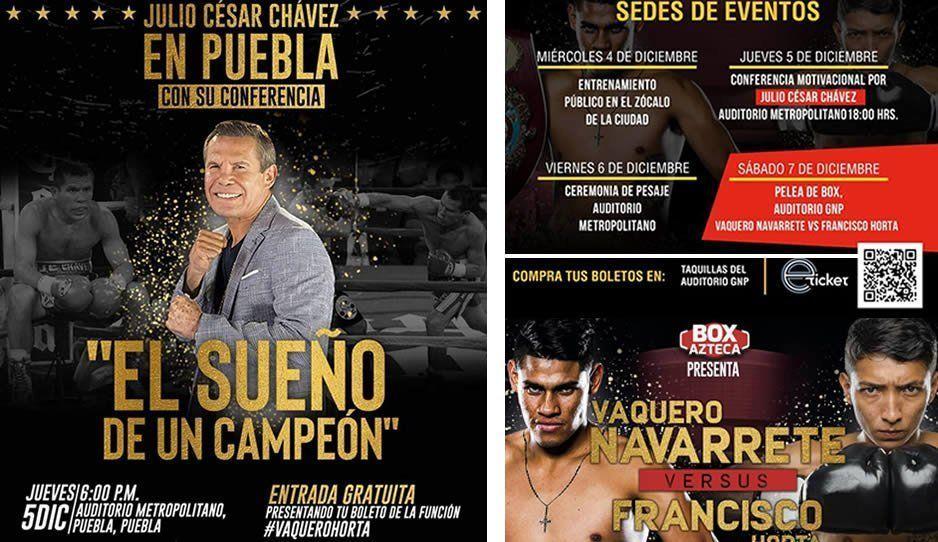 Puebla se llena de box esta semana con el Campeonato Mundial Súper Gallo de la WBO