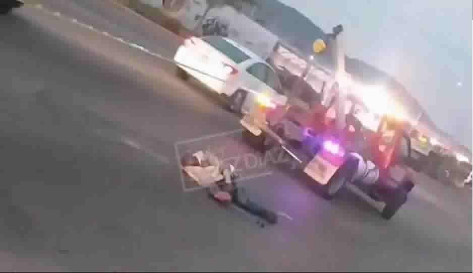 Abuelito muere atropellado en la Puebla-Tehuacán