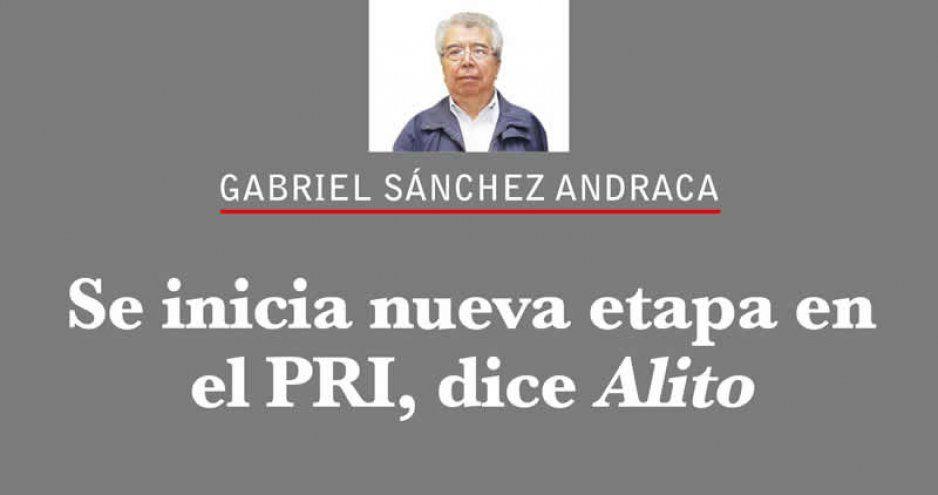 Se inicia nueva etapa en el PRI, dice Alito