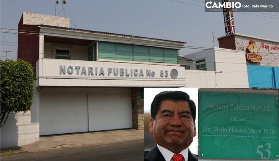 Notaría de Marín en Huexotitla opera normal tras la orden de aprehensión en su contra (FOTOS y VIDEO)