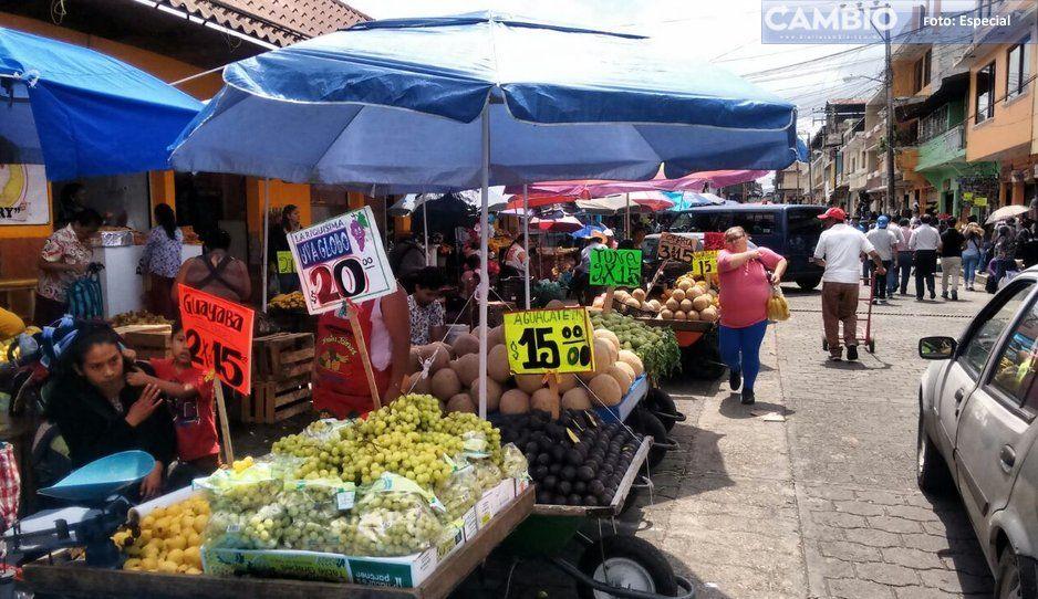 Muere en la explanada del Mercado 5 de Mayo de Huauchinango