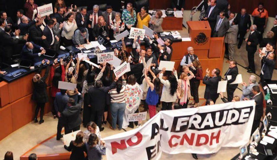Renuncian cuatro consejeros de la CNDH tras llegada de Rosario Piedra