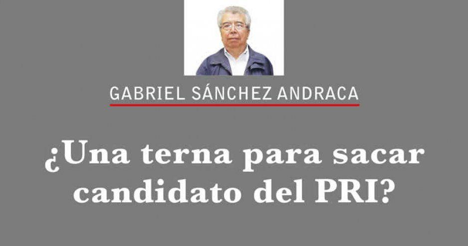 ¿Una terna para sacar candidato del PRI?