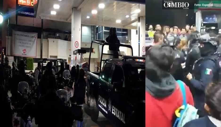 ¡Inaudito! Se desata balacera en Nezahualcótyotl por gasolina (VIDEO)