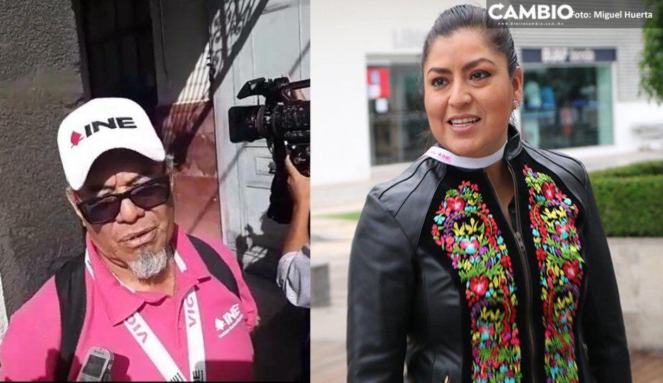 Renuncian cuatro funcionarios en la casilla que votará Claudia Rivera; se retrasa la votación